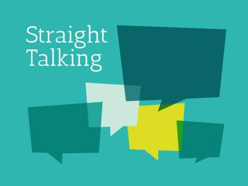 Straight Talking Social Event